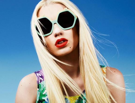 Iggy Azalea: a new shade of feminism. Photograph: Matt Irwin/House of Holland